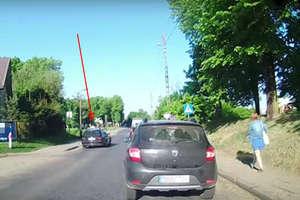 Omijał poranne korki naruszając przepisy ruchu drogowego