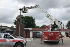 Strażacy ruszyli na pomoc pisklętom