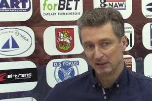 Włodarze Sokoła Ostróda podziękowali trenerowi Sławomirowi Majakowi