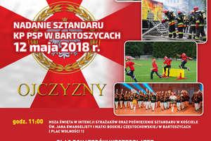 Wojewódzkie Obchody Dnia Strażaka w Bartoszycach