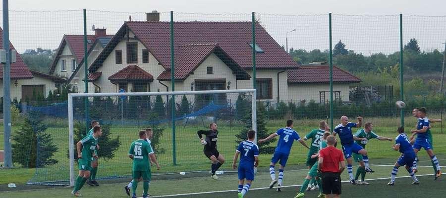 Jesienią w Kętrzynie Granica bez problemu pokonała Zatokę 4:0. W Braniewie nie było już tak łatwo.
