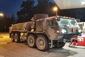 Pojazdy wojskowe na Warmii i Mazurach. Uwaga na utrudnienia