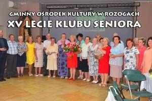 Klub Seniora z Rozóg świętował swój jubileusz