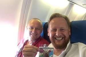 Nasz człowiek w drodze na mundial Rosja 2018, wyruszył do Moskwy