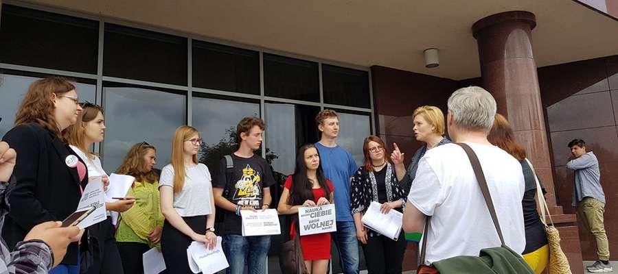 Studenci UWM: Jesteśmy przeciwni marginalizowaniu uniwersytetów regionalnych