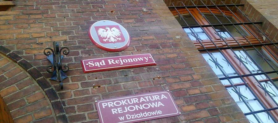 Mieszkaniec gminy Rybno decyzją działdowskiego sądu został tymczasowo aresztowany