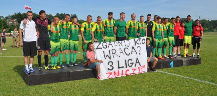 Znicz Biała Piska awansował do III ligi