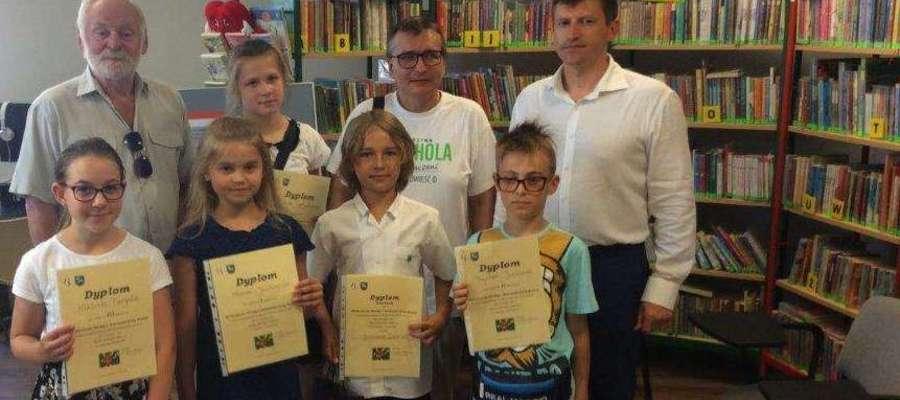 Uczniowie Zespołu Szkolno – Przedszkolnego w Lidzbarku Warmińskim.