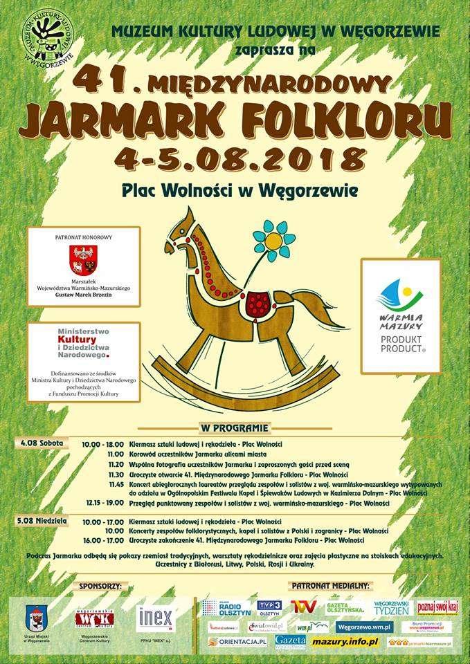 41. Międzynarodowy Jarmark Folkloru - plakat