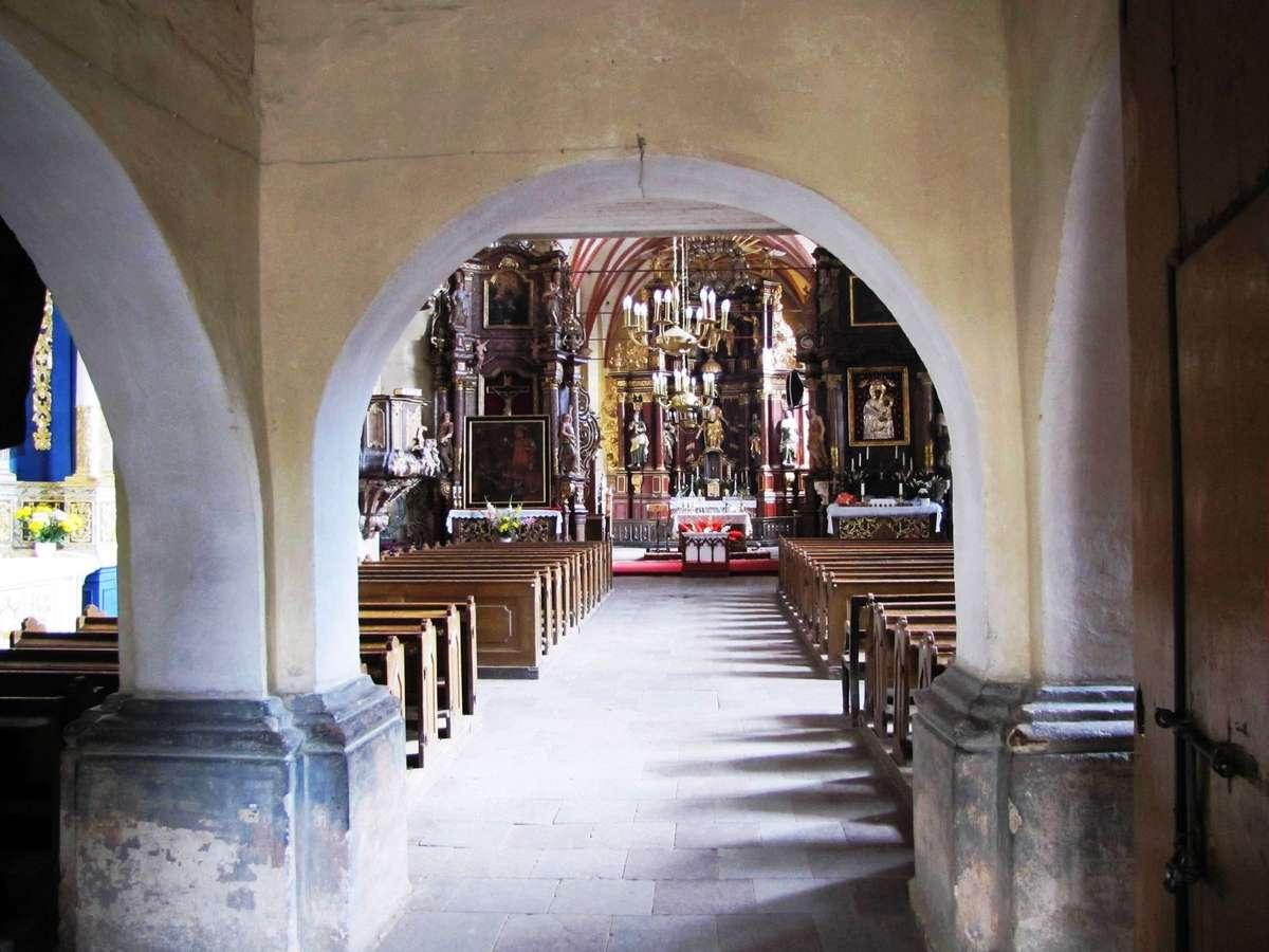 Barczewo: kościół bez Batorego - full image