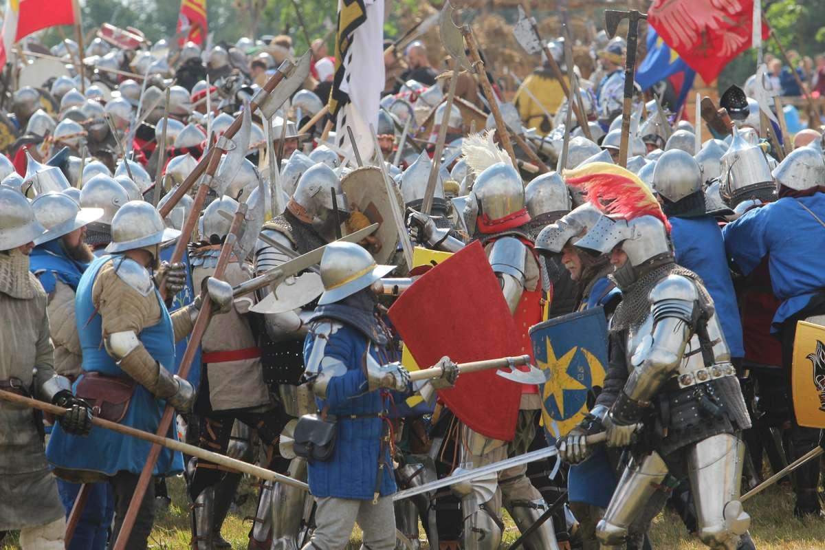 Bitwa pod Grunwaldem. Krzyżacy znowu nie dali rady [VIDEO, ZDJĘCIA] - full image