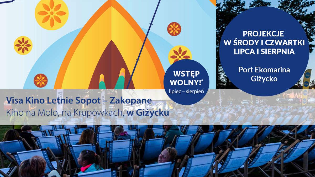 Patricia Kazadi i Piotr Głowacki na rozpoczęcie Visa Kino Letnie w Giżycku - full image