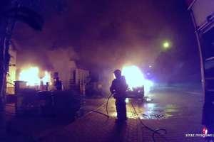 Strażackie podsumowanie. 107 strażaków w akcji.