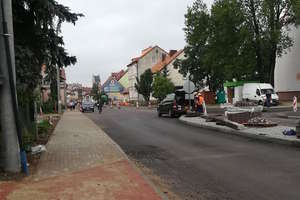 Nidzickie ulice w remoncie