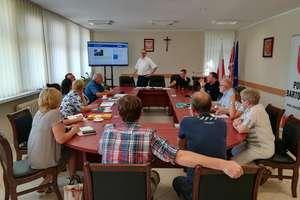 W starostwie odbyło się spotkanie Powiatowego Zespołu Zarządzania Kryzysowego