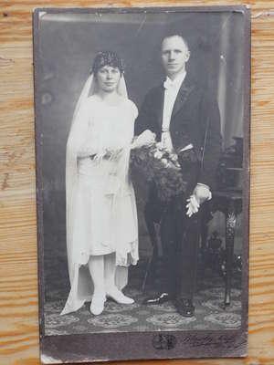 Malewscy ślubne zdjęcie