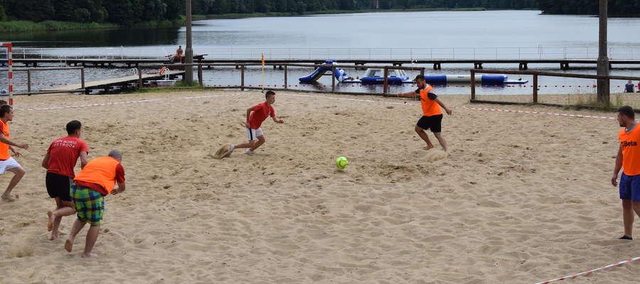 Sobotni turniej beach soccera na plaży miejskiej rozpocznie się o godz. 10