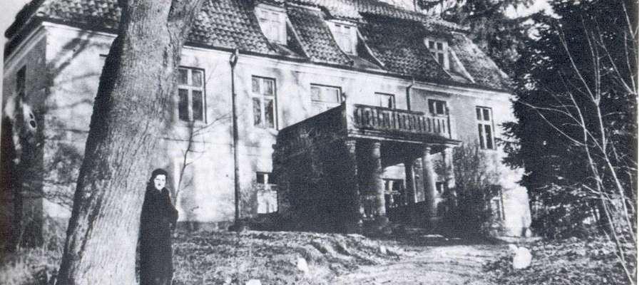 Pałacyk w Dawidach – 1934.