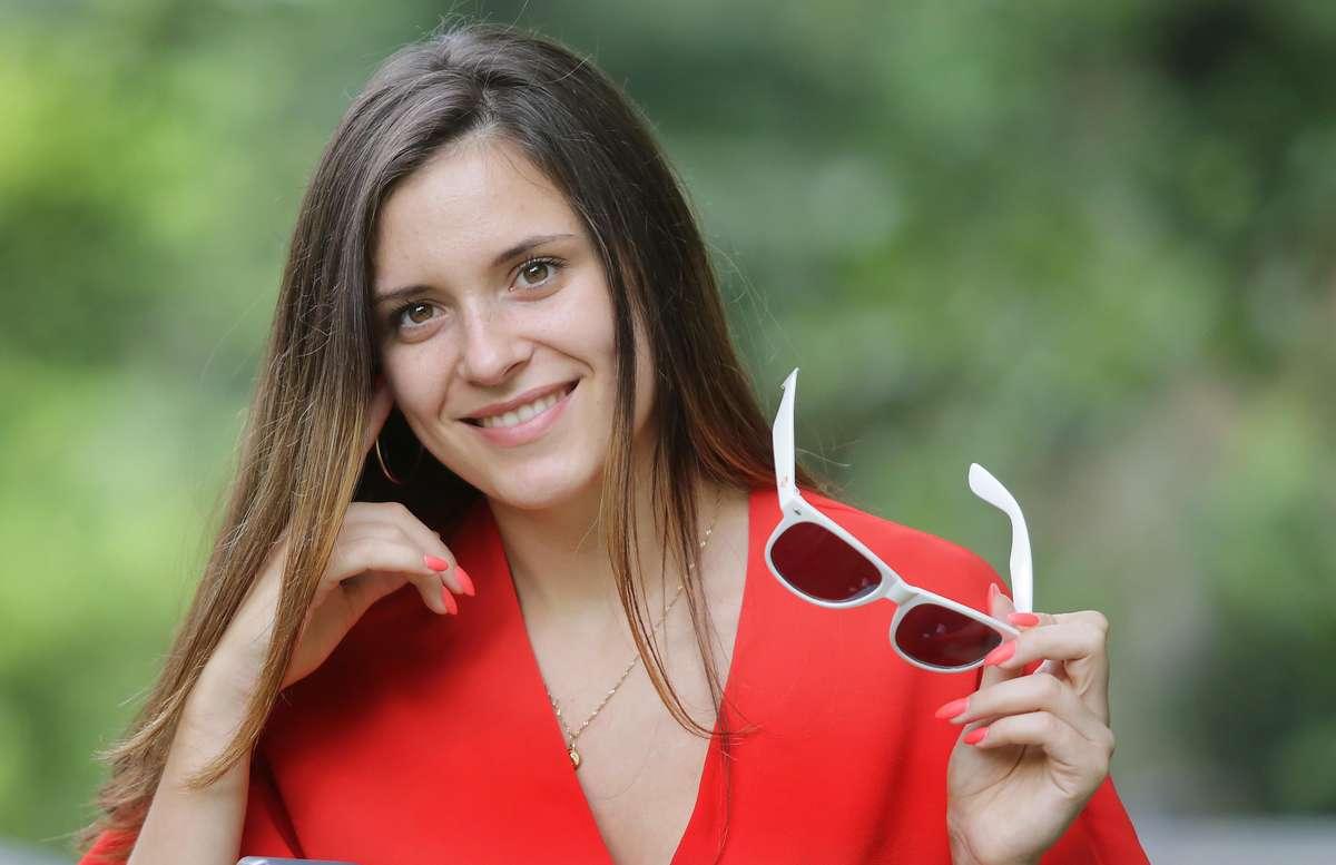 Sandra Wiśniewska  Olsztyn-Sandra Wiśniewska-dziewczyna lata w plebiscycie GO