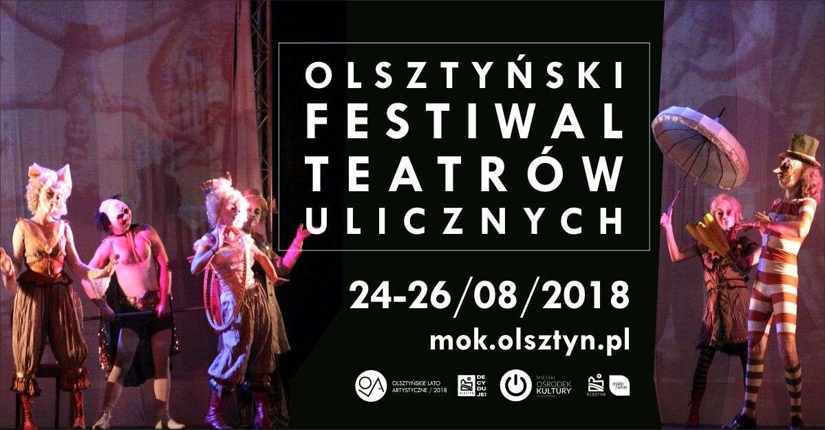 Olsztyński Festiwal Teatrów Ulicznych  - full image