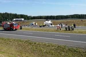 Cztery samochody zderzyły się na DK 16