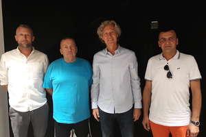 Spotkali się z prezesem Legii, by omówić organizację przyszłorocznego turnieju Legia Bart