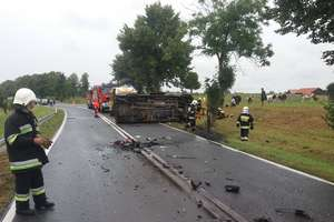 Wypadek za wypadkiem. Czarna seria na drogach regionu [AKTUALIZACJA]