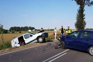 Czołówka dwóch aut w Gajówkach