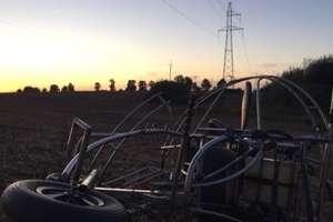 Śledztwo w sprawie śmiertelnego wypadku na motoparalotni