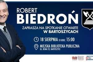 Robert Biedroń spotka się z mieszkańcami Bartoszyc