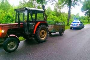 Małżeńska przejażdżka traktorem zakończy się w sądzie