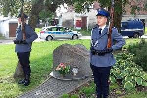 Policjanci nie zapominają o koledze, który zginął na służbie