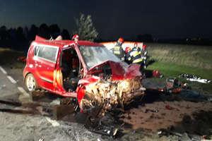 Koło Bartoszyc zginęli dwaj kierowcy. Zderzyli się czołowo na DK 51