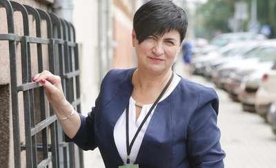 Zdzisława Tołwińska  Olsztyn-Zdzisława Tołwińska wicedyrektorka KRUS w Olsztynie