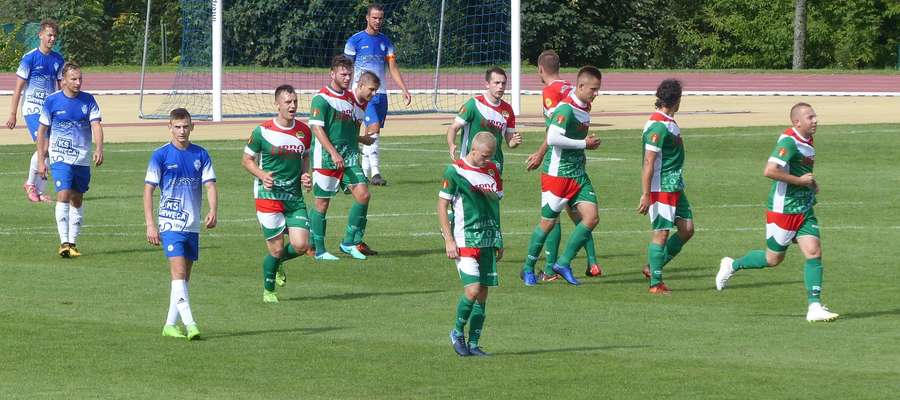 Po zwycięstwie nad Drwęcą piłkarze Motoru powalczą o komplet punktów w Olecku z Czarnymi
