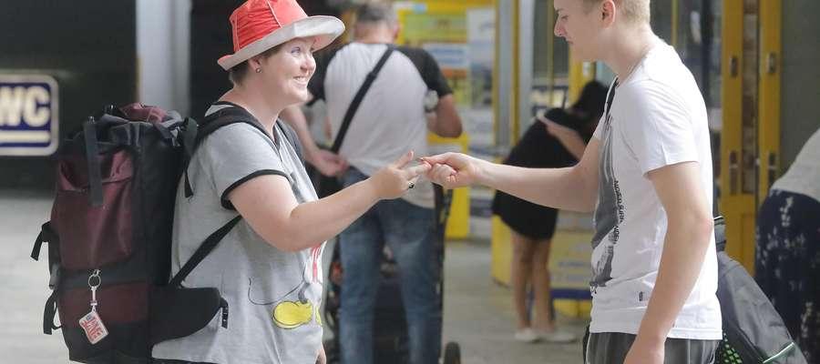 Prowokacja kasa PKP  Olsztyn-prowokacja,akcja zabrakło pieniędzy -kto pomoże dworzec PKP