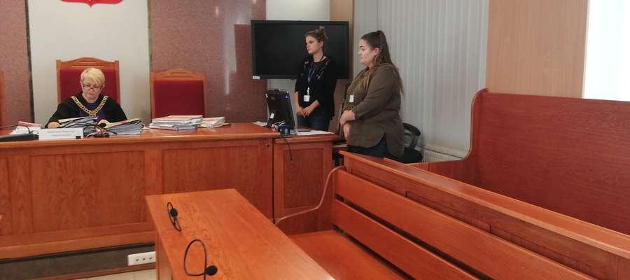 Sędzia Anna Górczyńska odczytała wyrok do pustych ław, bo nie pojawili się ani oskarżony, ani obrońca