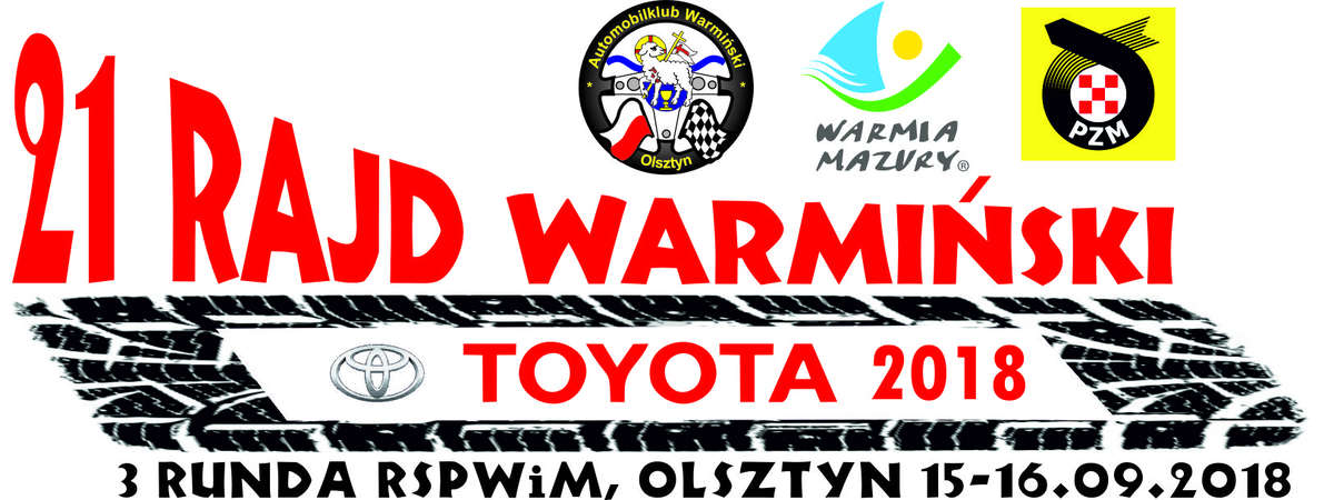 21 Rajd Warmiński Toyota 2018 - full image