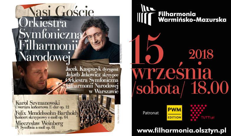 Orkiestra Symfoniczna Filharmonii Narodowej wystąpi w Olsztynie - full image