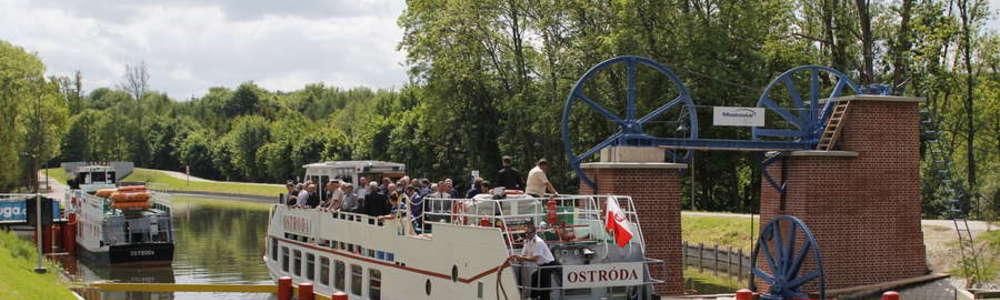 Jedną z atrakcji będą pokazy makiety kanałowej pochylni Oleśnica.