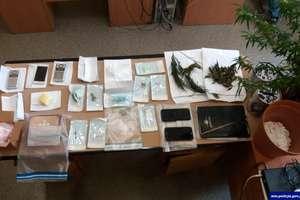 Akcja CBŚP w powiecie działdowskim. Zatrzymano 2 osoby, które posiadały znaczne ilości narkotyków