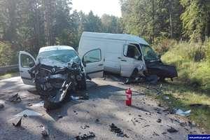 Dwa groźne wypadki na drogach regionu. Kierowcy, noga z gazu!