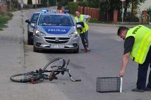Helikopter zabrał ranną kobietę do szpitala w Olsztynie
