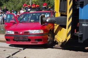 Szlaban na ryzyko — w Iławie zobaczymy symulację wypadku na przejeździe kolejowym