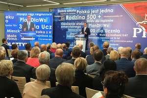 Wojewódzka konwencja PiS z udziałem premiera Mateusza Morawieckiego i prezesa Jarosława Kaczyńskiego [VIDEO]