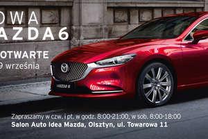DNI OTWARTE 27-29 września - Nowa Mazda6 już w Olsztynie!!!