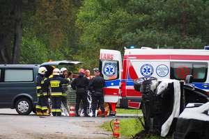 28-letni kierowca zginął na miejscu