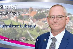 Maciej Radtke, burmistrz Lubawy: