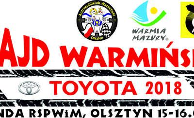 21 Rajd Warmiński Toyota 2018