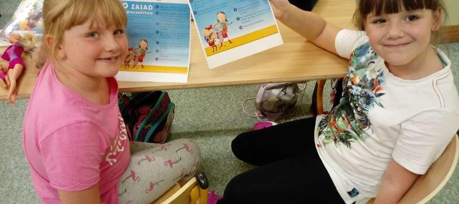 Dzieci otrzymały wskazówki jak radzić sobie w sytuacji zagrożenia